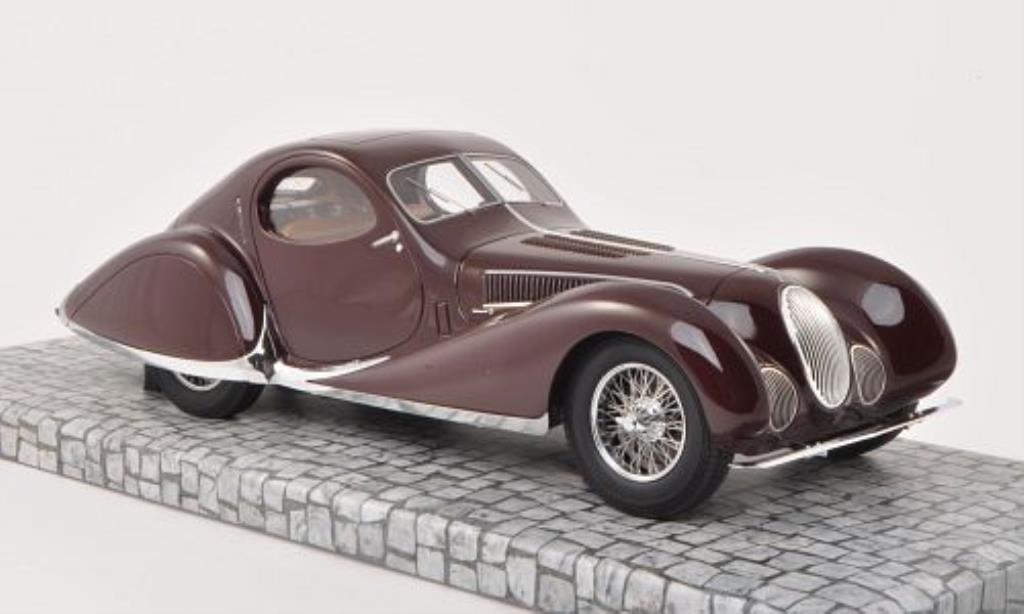 Talbot Lago 1/18 Minichamps T 150-C-SS Coupe rouge 1937 miniature