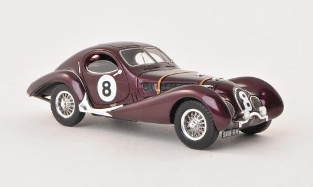 Talbot Lago 1/43 Spark T-150 SS No.8 24h Le Mans 1939 miniature