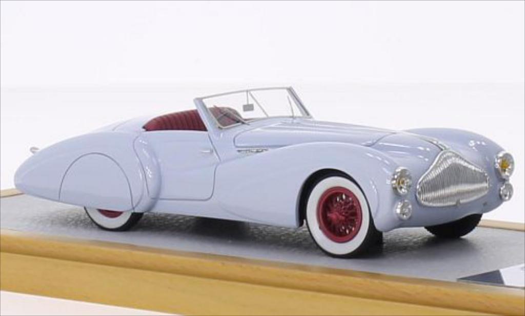 Talbot Lago 1/43 Chromes T150 Roadster Saoutchik bleu RHD 1939 miniature