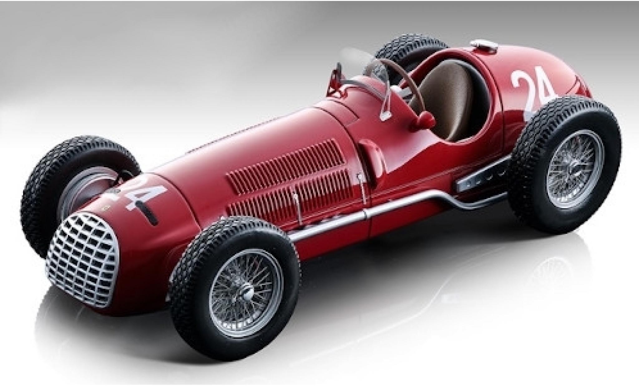 Ferrari 125 1/18 Tecnomodel F1 No.24 Scuderia Formel 1 GP San Remo 1950 L.Villoresi