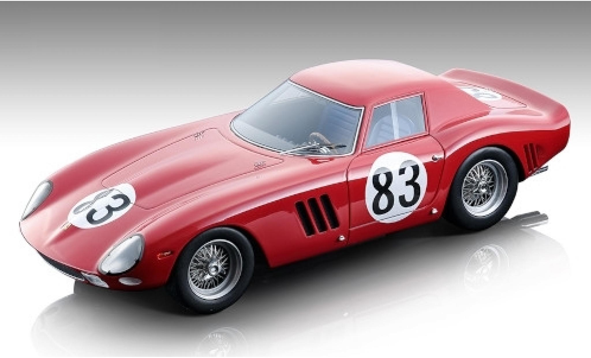 Ferrari 250 1/18 Tecnomodel GTO No.83 SEFAC 1000km Nürburgring 1964 M.Parkes/J.Guichet