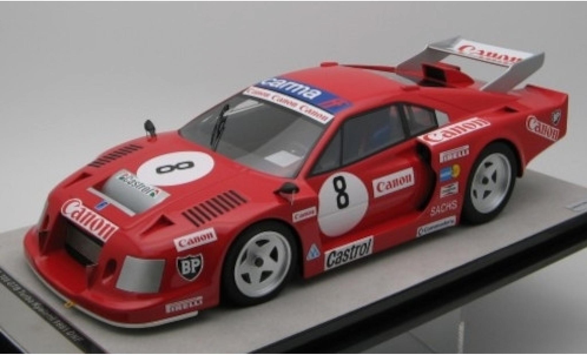 Ferrari 308 1/18 Tecnomodel GTB Turbo No.8 Team Carma FF / Achilli Motors Canon 9h Kyalami 1981 C.Facetti/M.Finotto