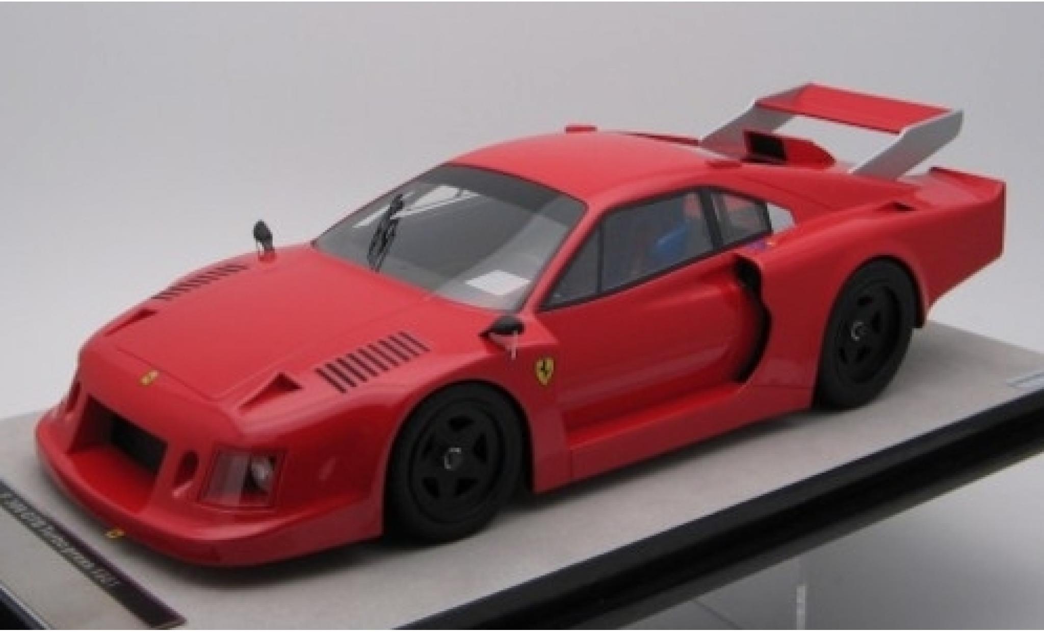 Ferrari 308 1/18 Tecnomodel GTB Turbo red Scuderia 1981 Presse- et v�hicule de test
