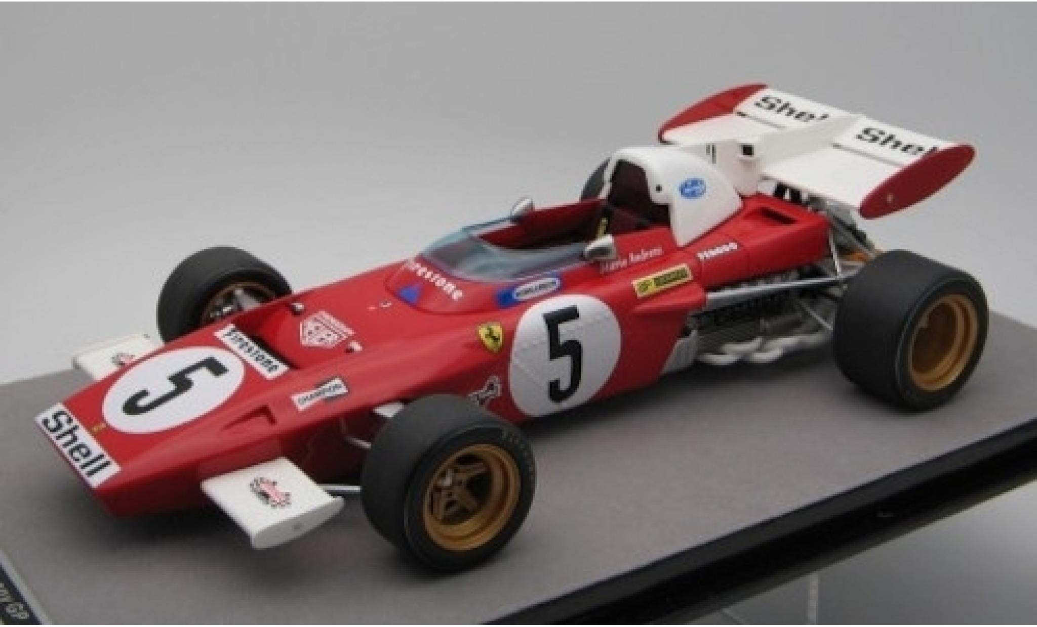 Ferrari 312 1/18 Tecnomodel B2 No.5 Scuderia Formel 1 GP Deutschland 1971 M.Andretti