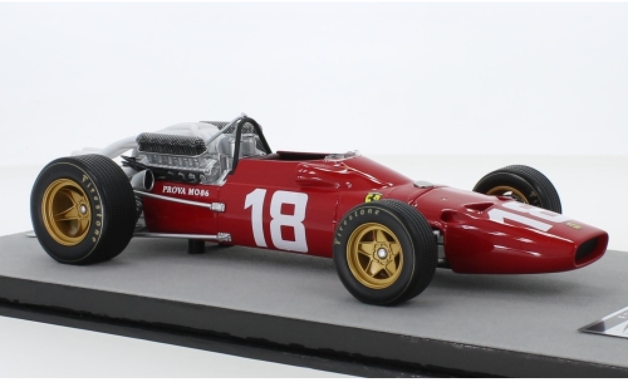 Ferrari 312 1/18 Tecnomodel F1-67 No.18 Scuderia Formel 1 GP Monaco 1967 L.Bandini