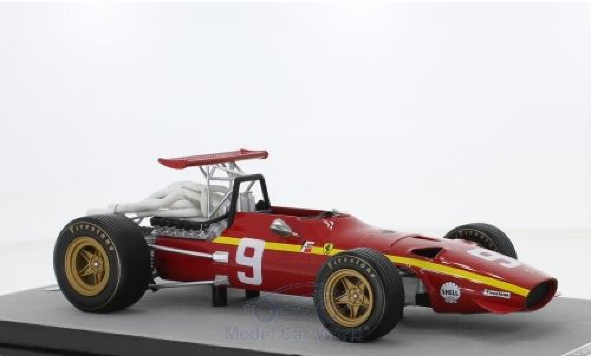 Ferrari 312 1/18 Tecnomodel F1/68 No.10 Scuderia Formel 1 GP Nürburgring 1968 J.Ickx