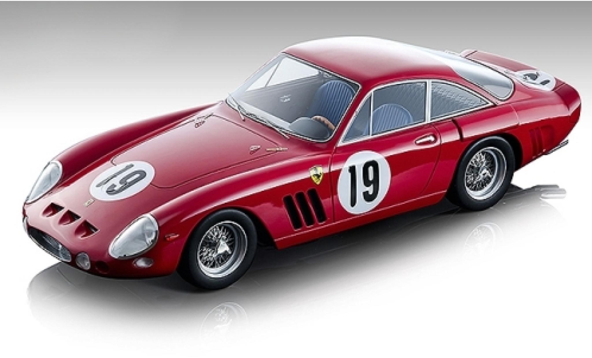 Ferrari 330 1/18 Tecnomodel LMB No.19 SEFAC 12h Sebring 1963 M.Parkes/L.Bandini