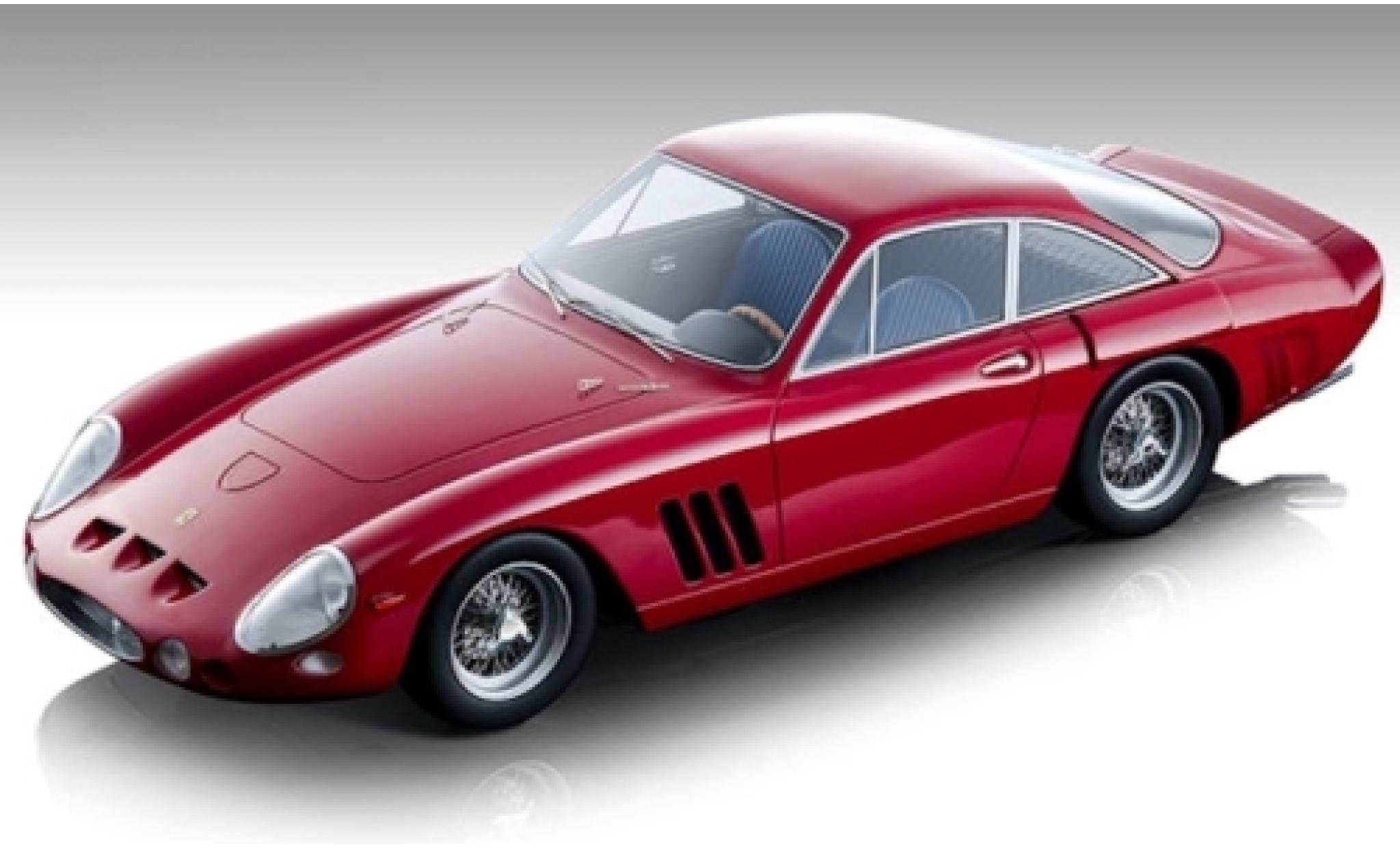 Ferrari 330 1/18 Tecnomodel LMB rouge 1962 Pressefahrzeug