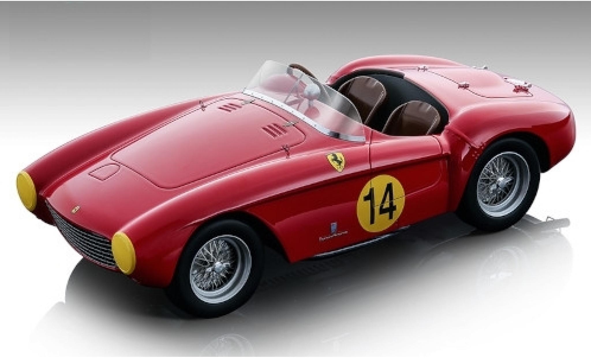 Ferrari 500 1/18 Tecnomodel Mondial RHD No.14 GP Spa 1954 H.Roosdorp