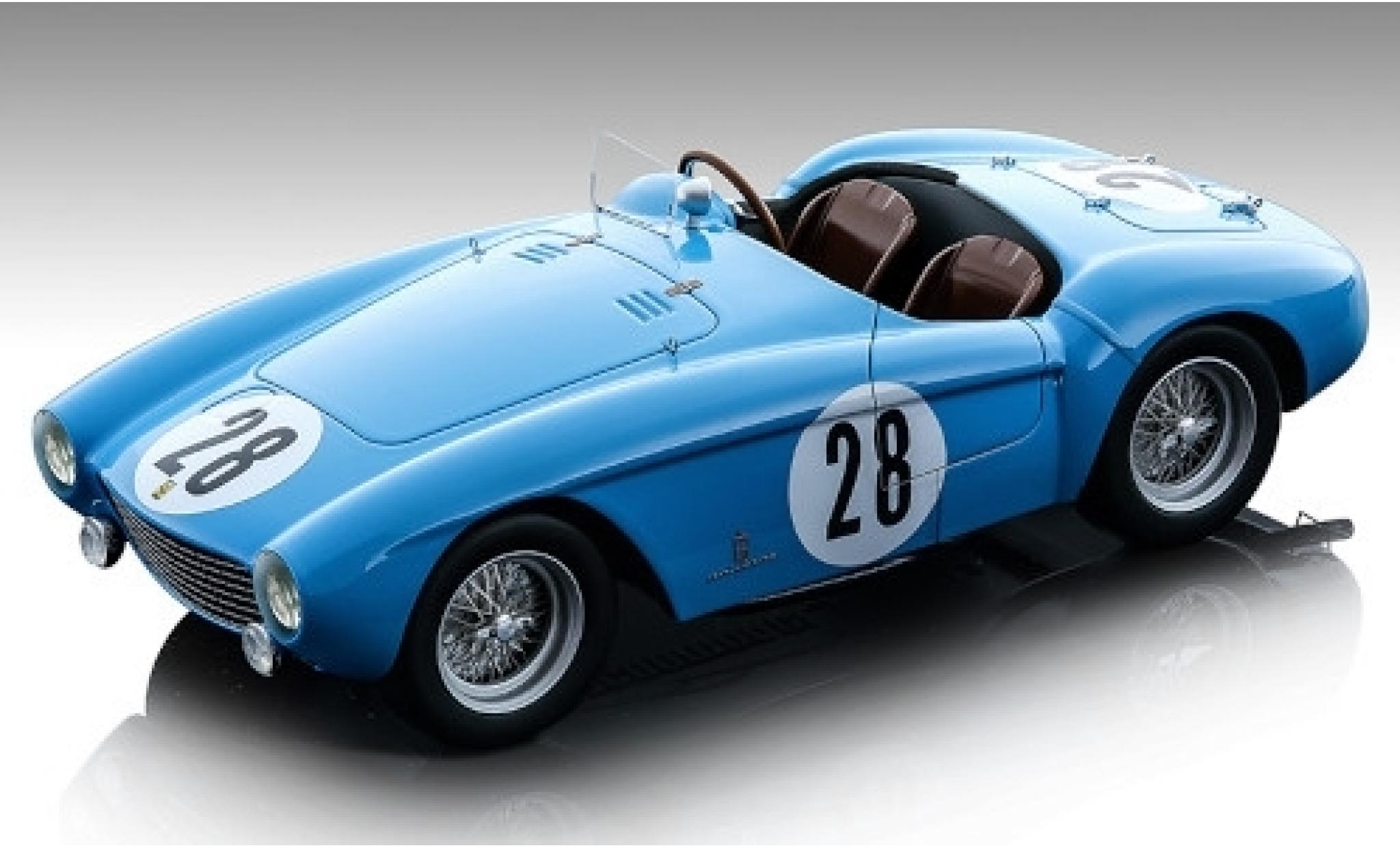 Ferrari 500 1/18 Tecnomodel Mondial RHD No.28 GP Reims 1954 Ricard/Pozzi