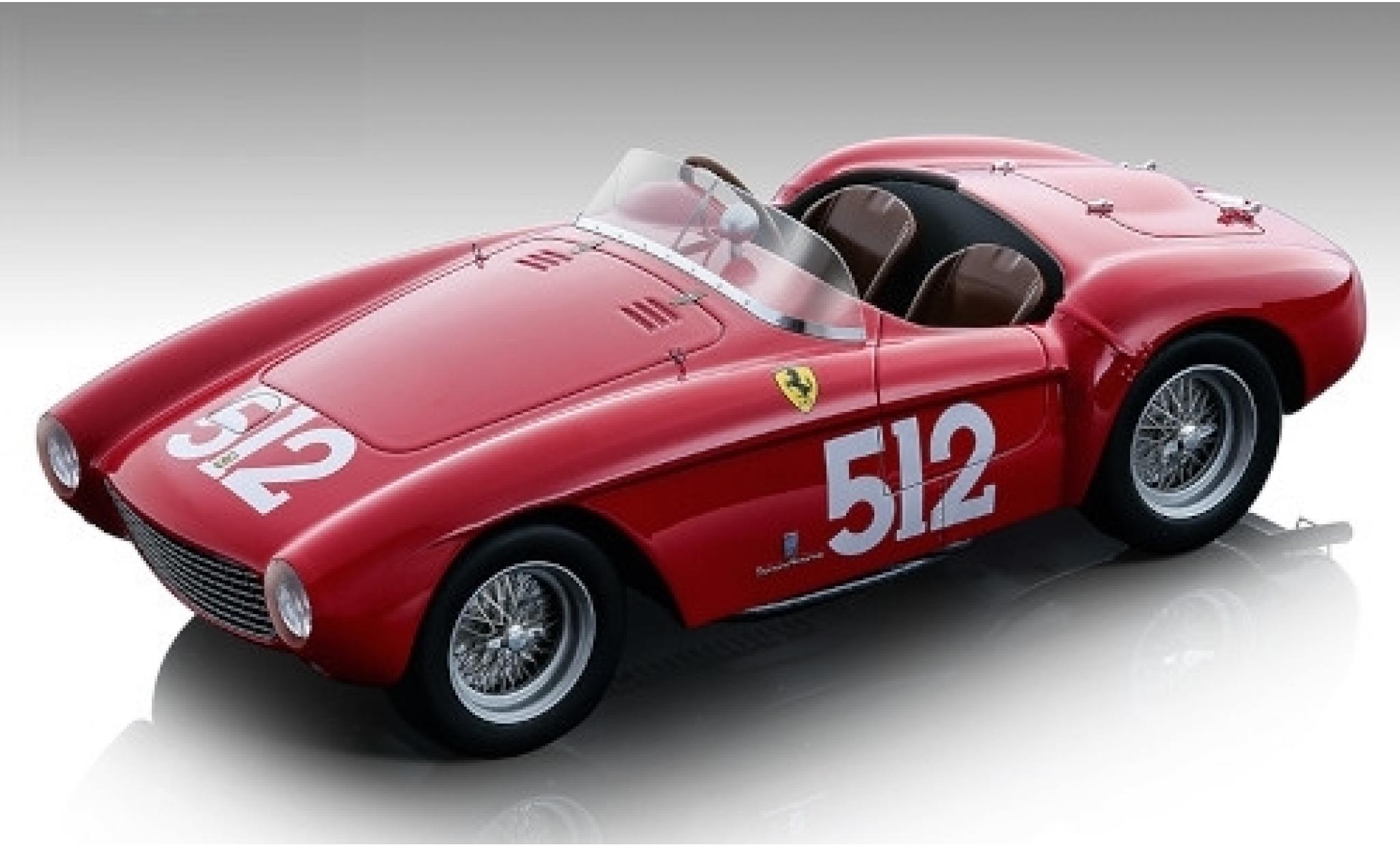 Ferrari 500 1/18 Tecnomodel Mondial RHD No.512 Scuderia Mille Miglia 1954 E.Sterzi/A.Rossi