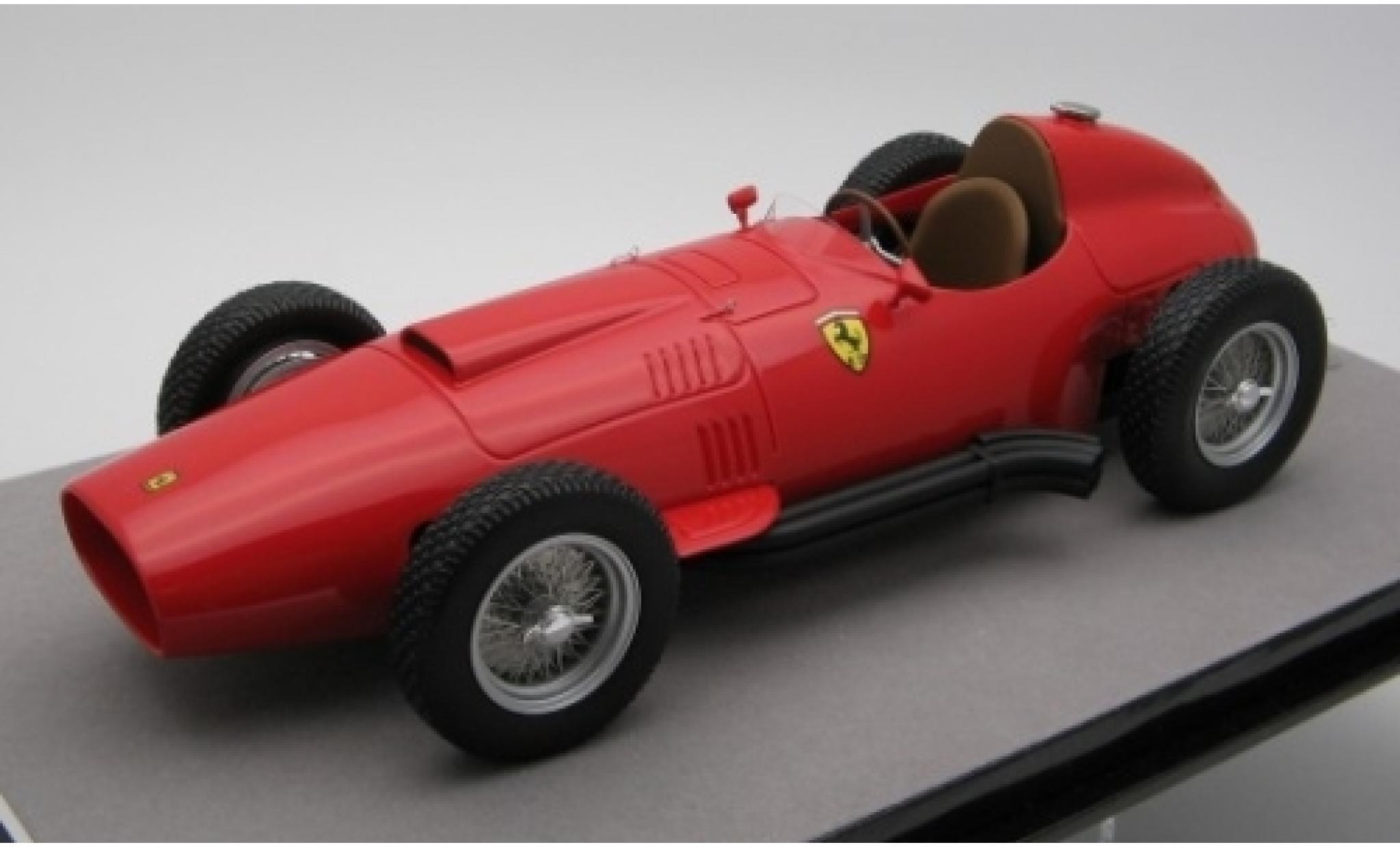 Ferrari 801 1/18 Tecnomodel rouge Scuderia Formel 1 1957 Pressefahrzeug
