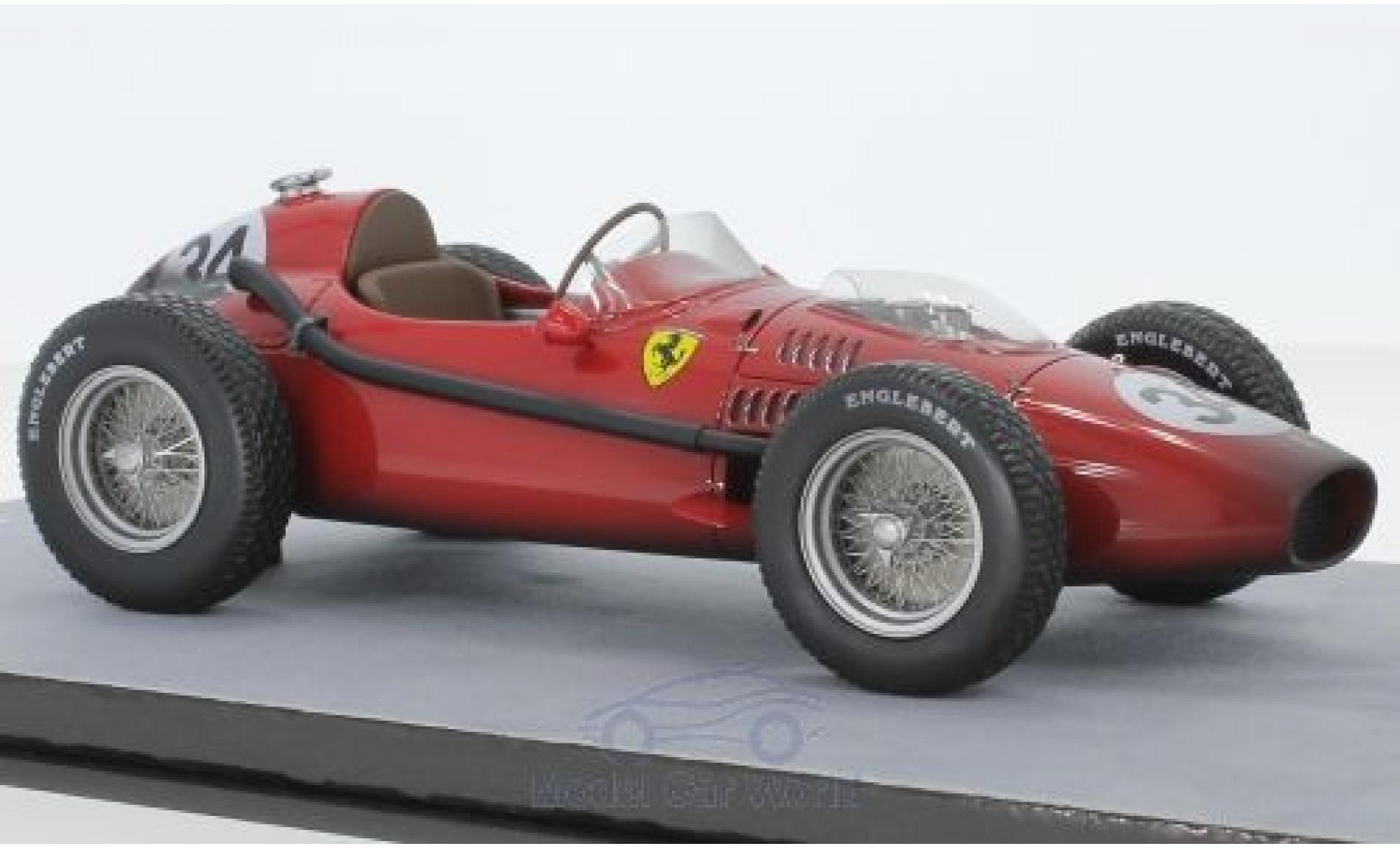 Ferrari Dino 1/18 Tecnomodel 246 F1 No.34 Formel 1 GP Monaco 1958 Final Race Version L.Musso
