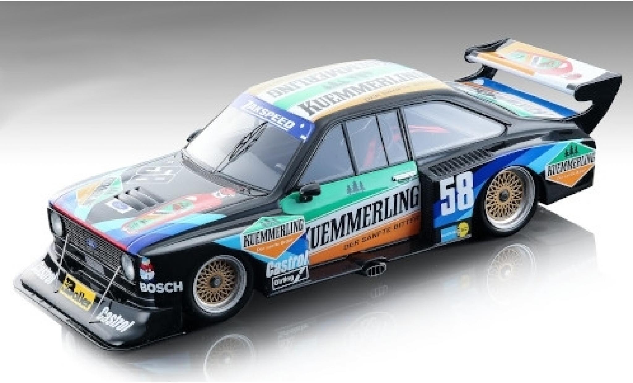 Ford Escort 1/18 Tecnomodel II RS Turbo No.58 Team Zakspeed Kuemmerling DRM Norisring 1980 W.Boller