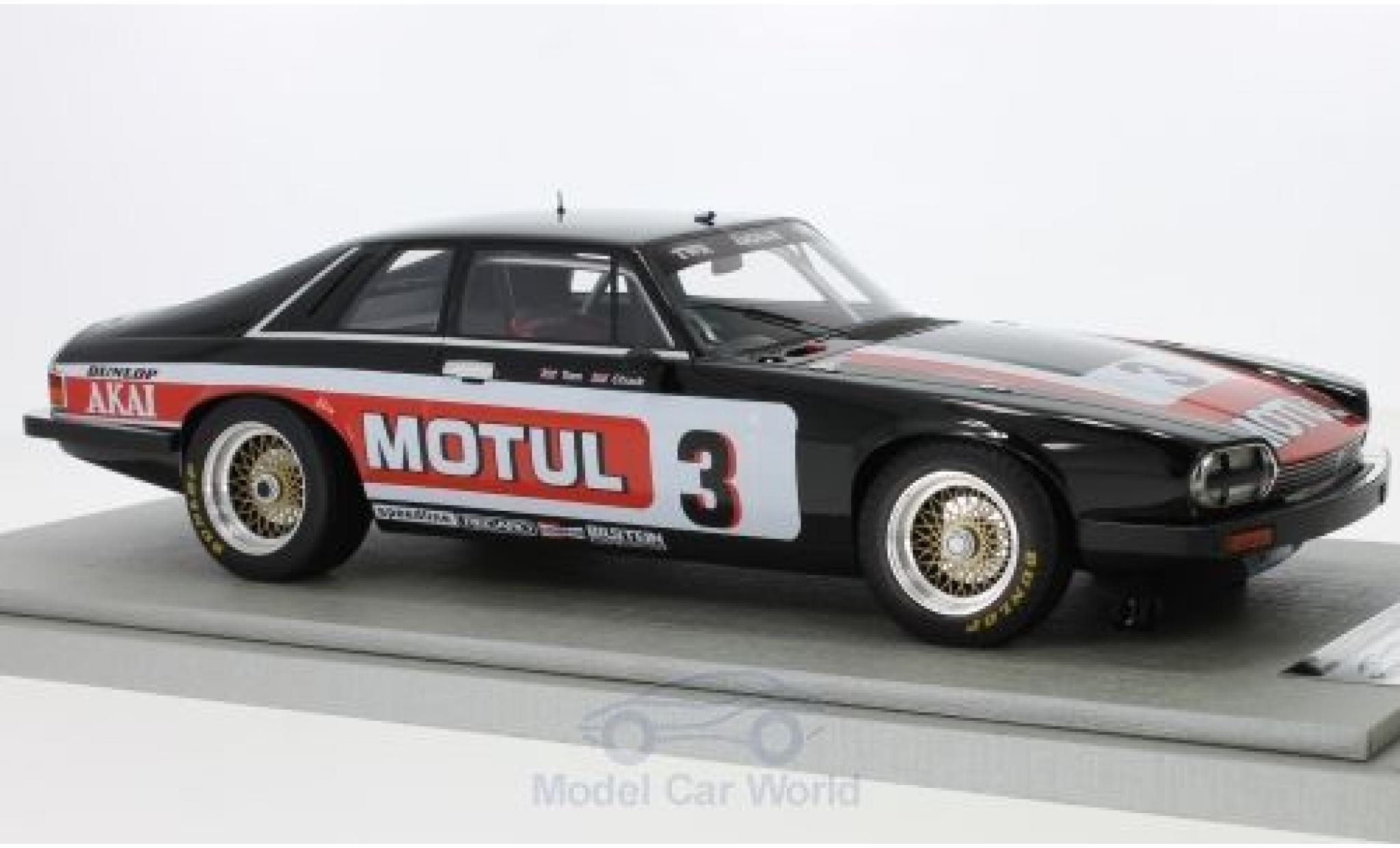 Jaguar XJS 1/18 Tecnomodel RHD No.3 Team Motul Tourist Trophy 1982 T.Walkinshaw/C.Nicholson