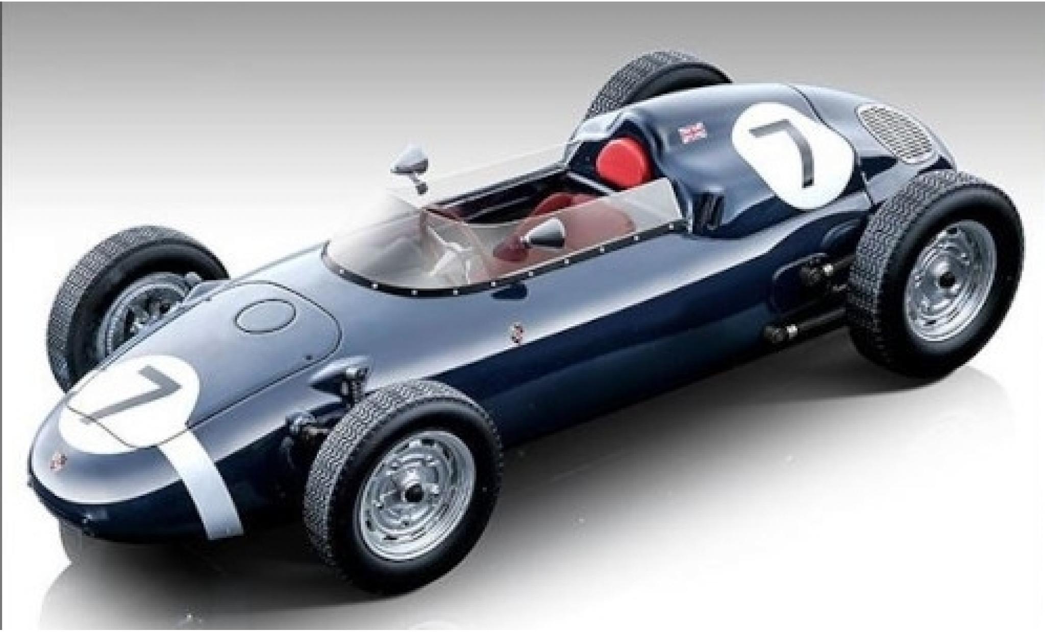 Porsche 718 1/18 Tecnomodel F2 No.7 Team Rob Walker BARC Aintree 1960 S.Moss