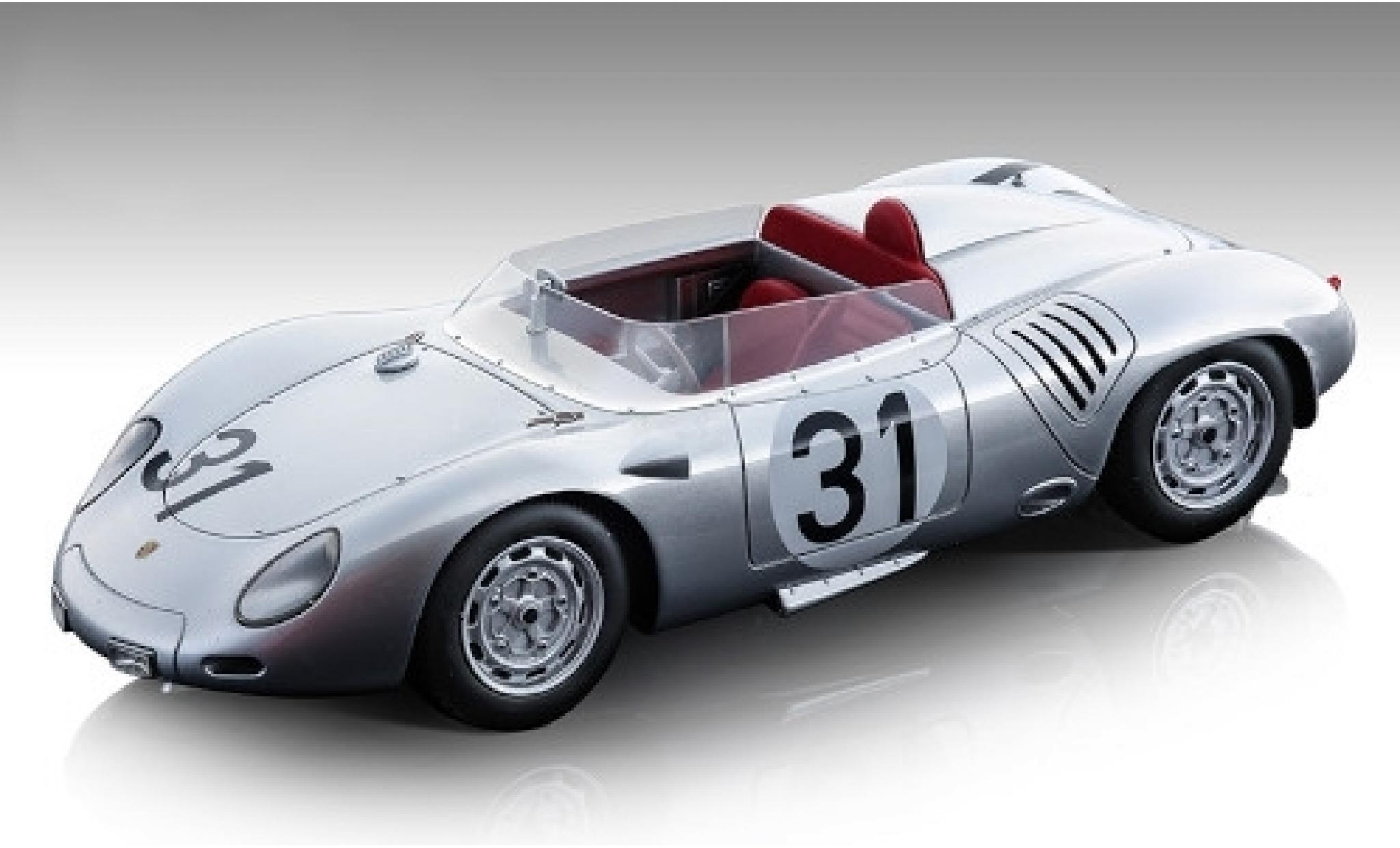 Porsche 718 1/18 Tecnomodel RSK No.31 KG 24h Le Mans J.Bonnier/W.von Trips