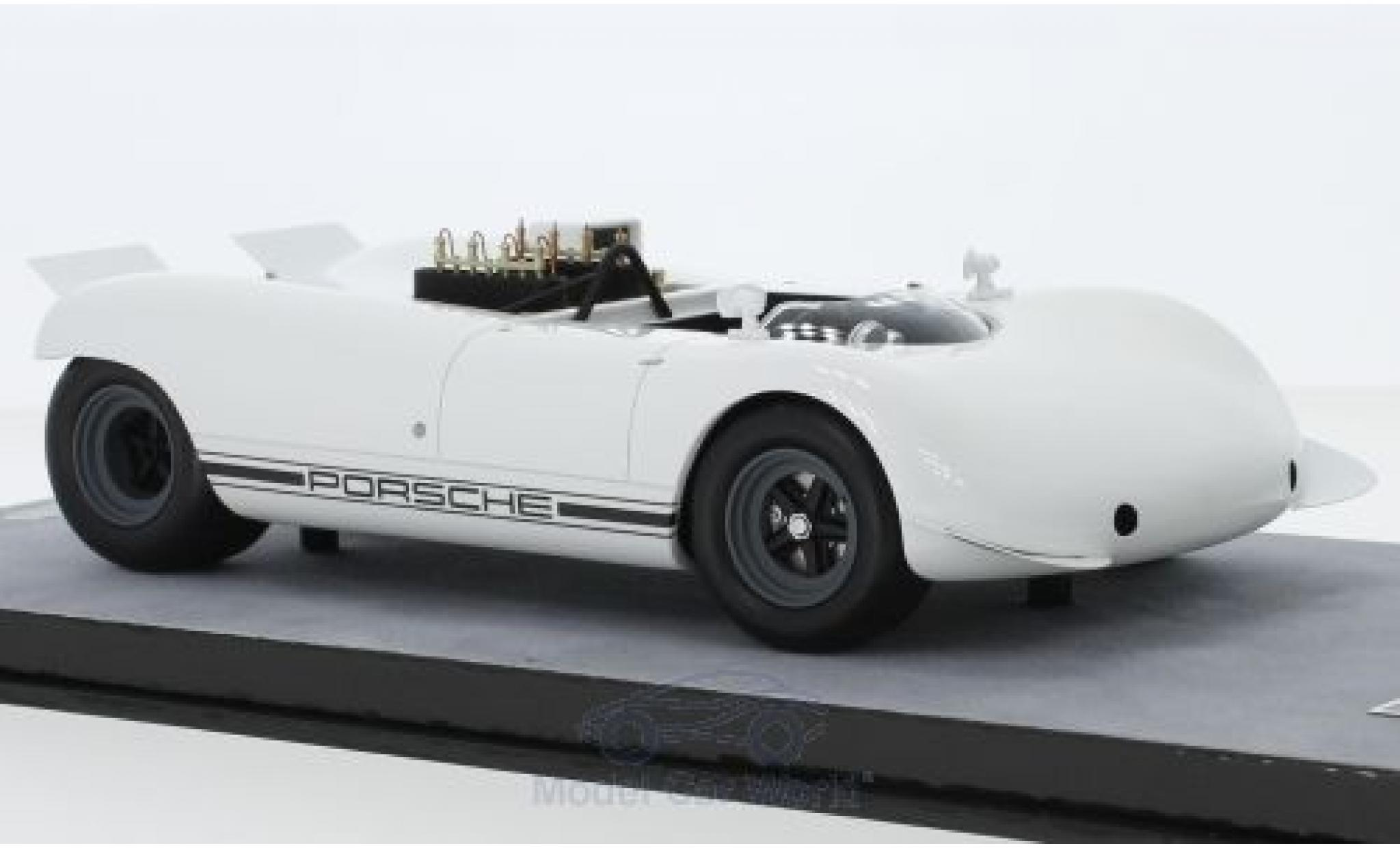 Porsche 909 1968 1/18 Tecnomodel Bergspyder blanche
