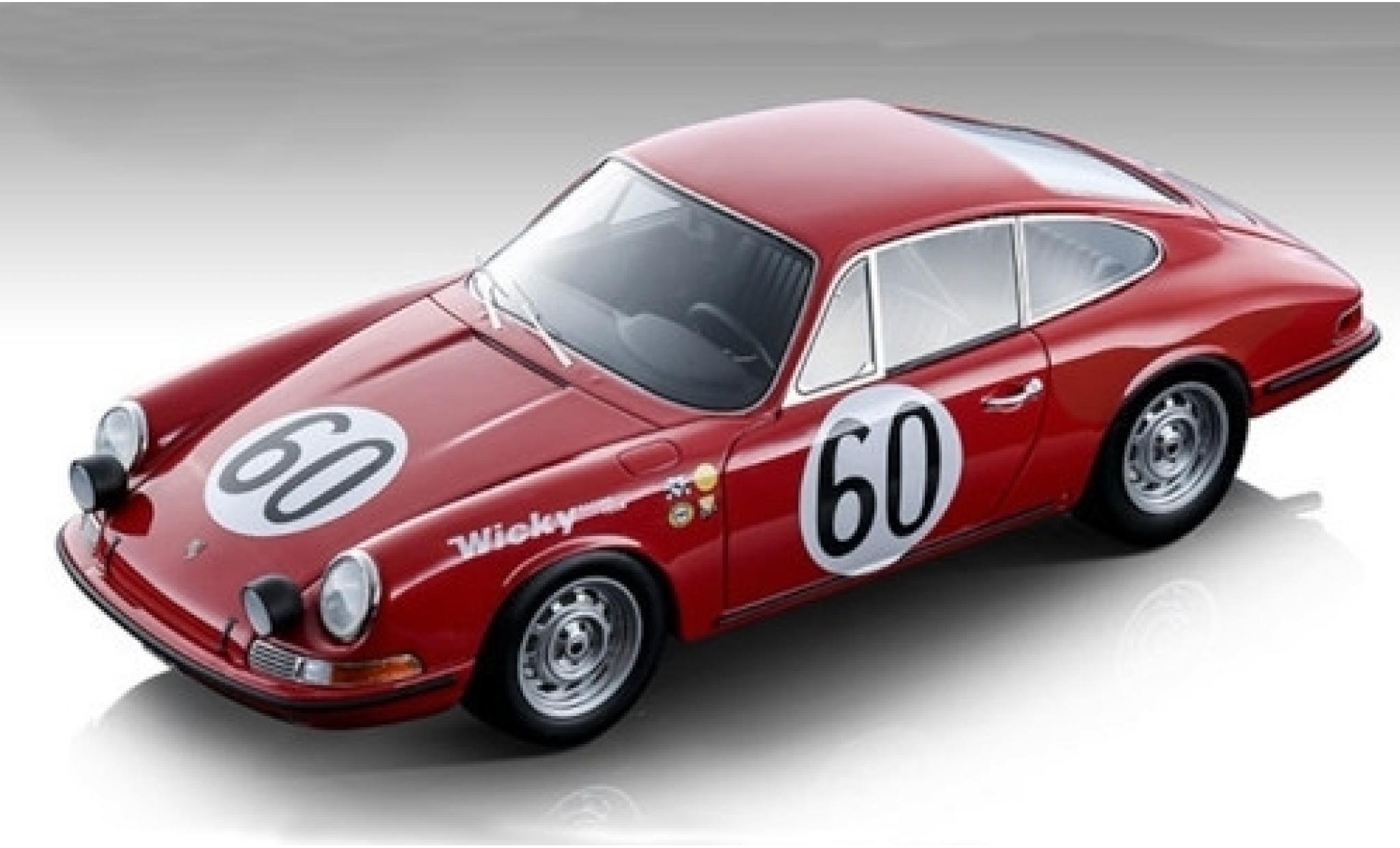 Porsche 911 1/18 Tecnomodel S No.60 24h Le Mans 1967 P.Farjon/A.Wicky