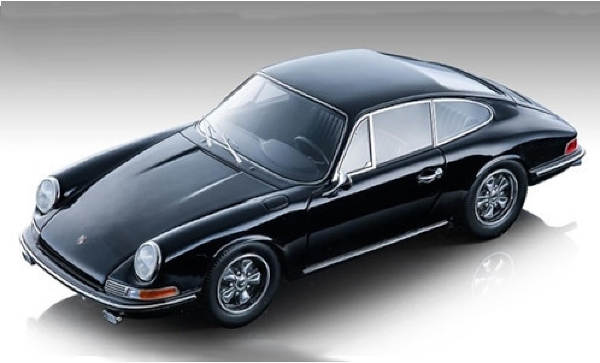 Porsche 911 1/18 Tecnomodel S nero 1967