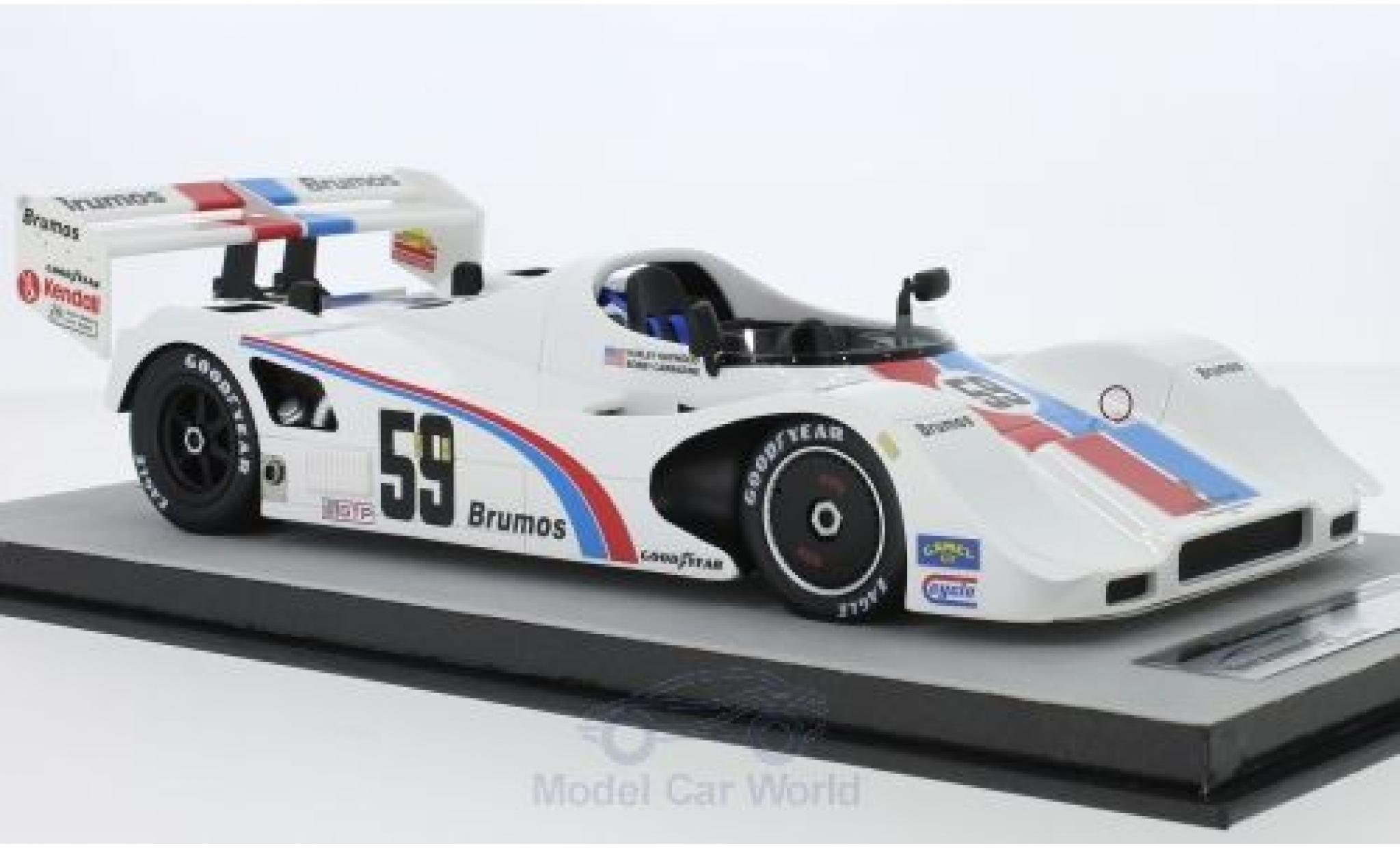 Porsche 966 1/18 Tecnomodel No.59 12h Sebring 1992 H.Haywood/B.Carradine