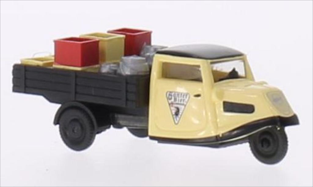 Tempo Dreirad 1/87 Busch Hanseat Ganter miniature