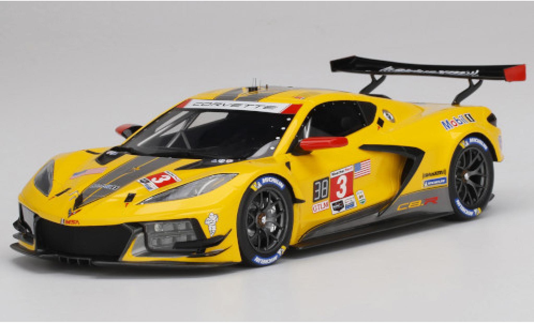 Chevrolet Corvette 1/18 Top Speed C8.R No.3 IMSA 24h Daytona 2020 A.Garcia/J.Taylor/N.Catsburg