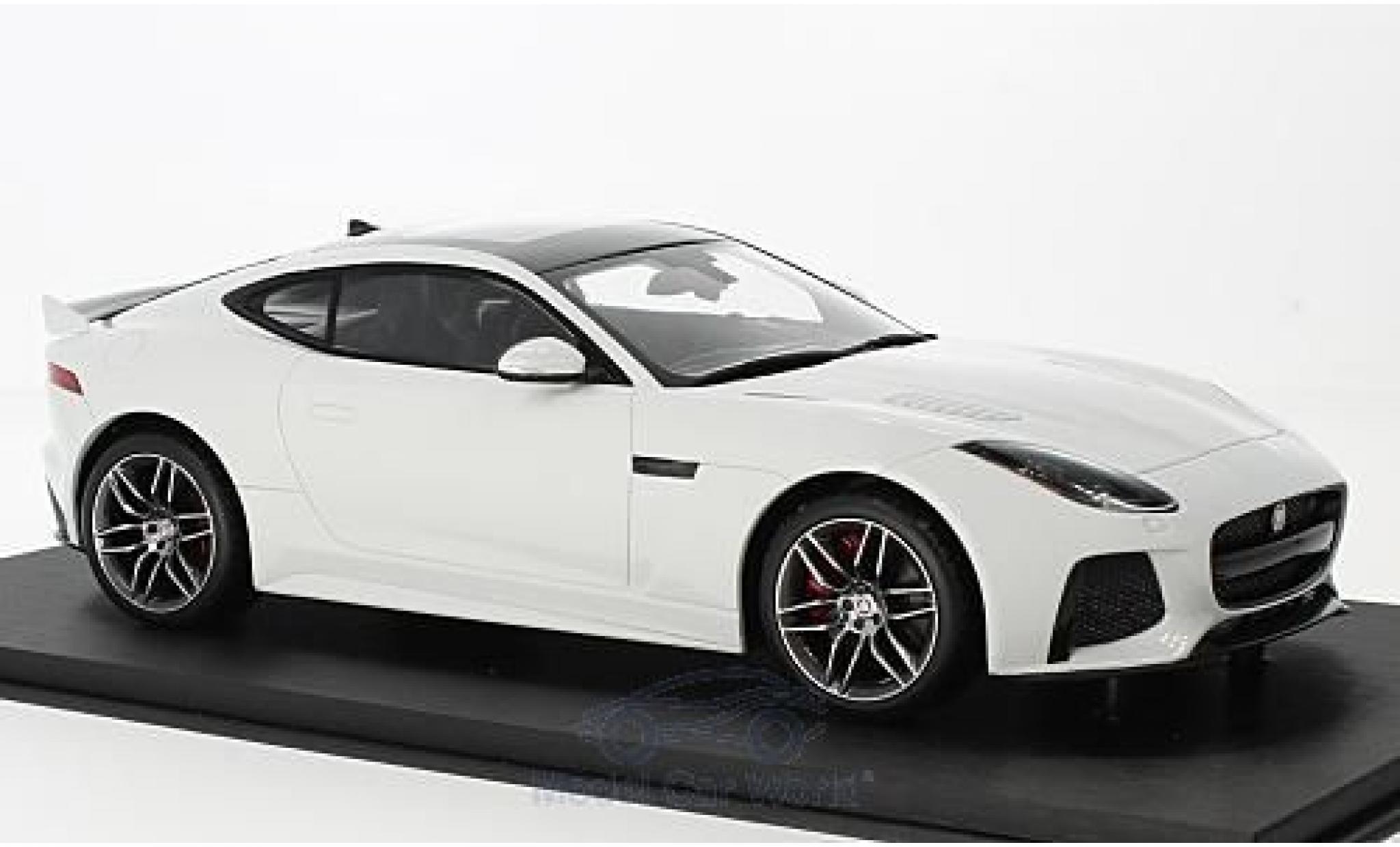 Jaguar S-Type 1/18 Top Speed SVR blanche 2016