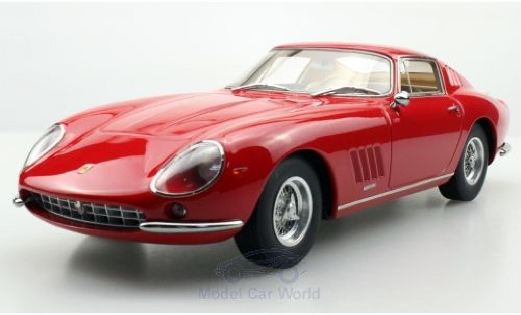 Ferrari 275 1/18 Topmarques Collectibles GTB/4 rouge