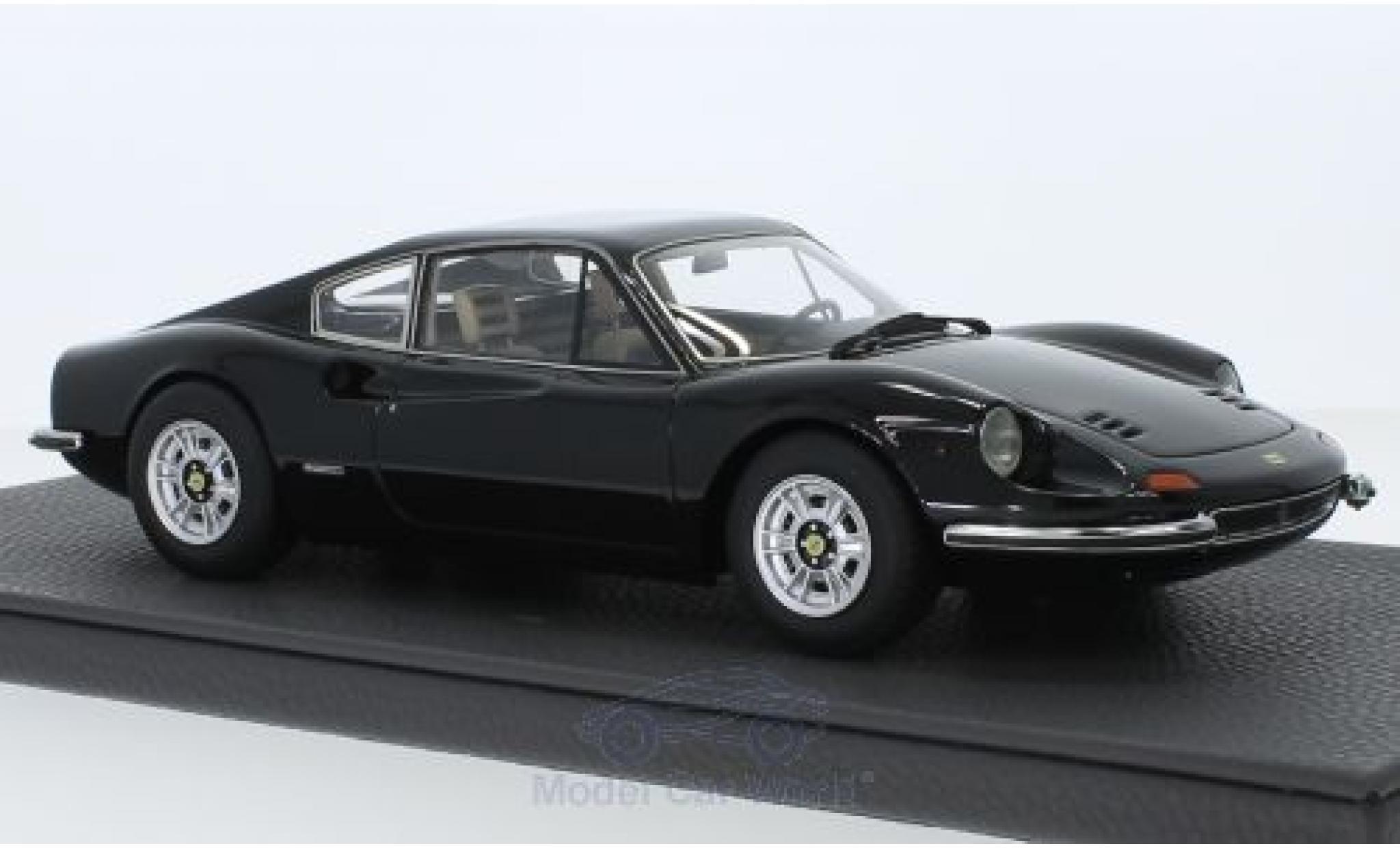Diecast Model Cars Ferrari Dino 1 18 Topmarques Collectibles 246 Gt Black Alldiecast Us
