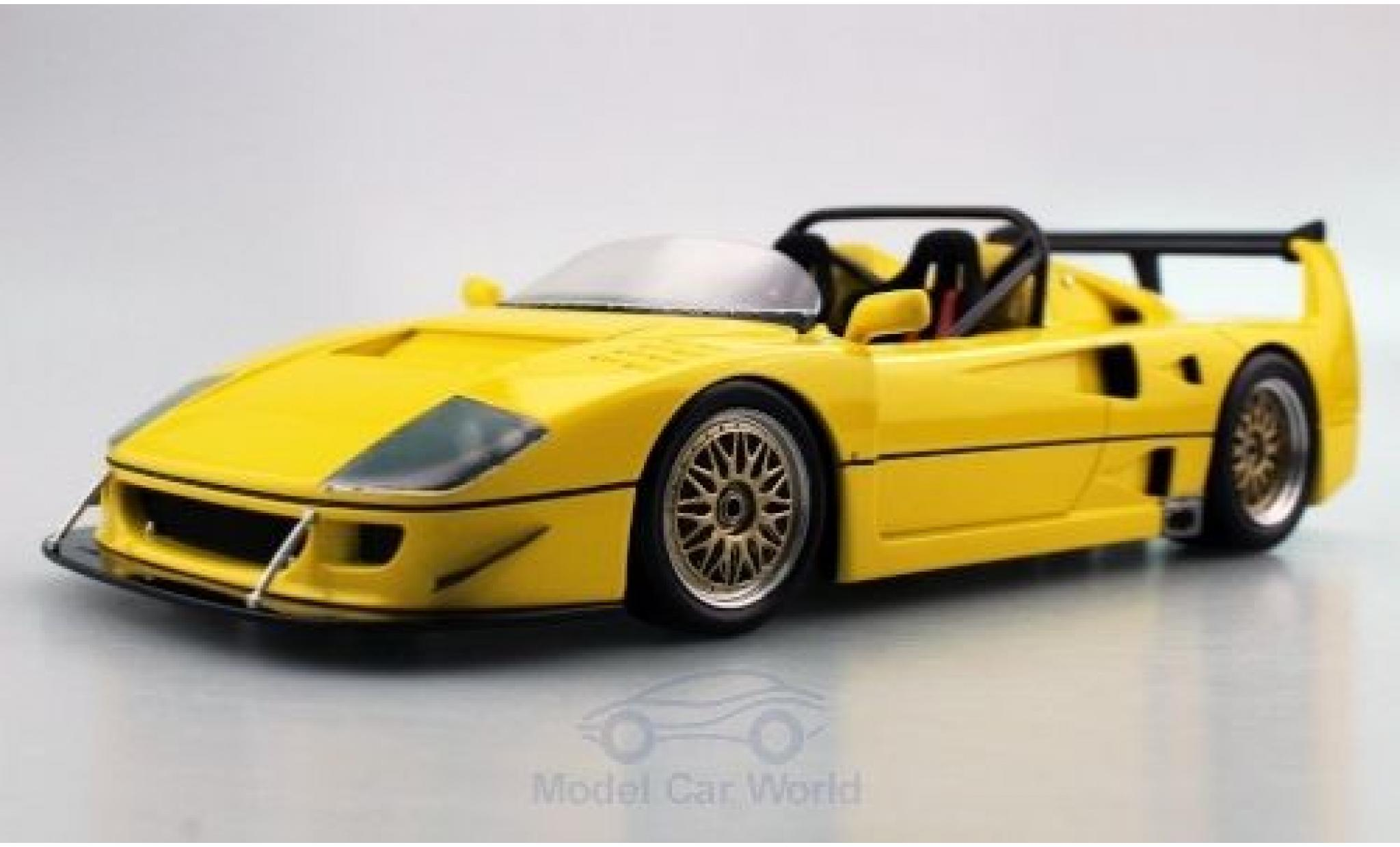 Ferrari F40 1/18 Topmarques Collectibles LM Beurlys Barchetta jaune