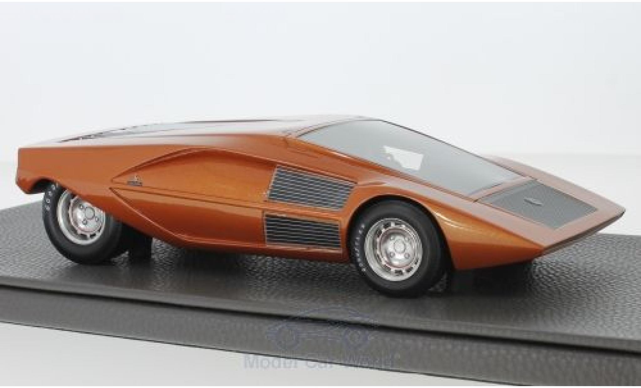 Lancia Stratos 1/18 Topmarques Collectibles Zero Concept metallise orange 1970