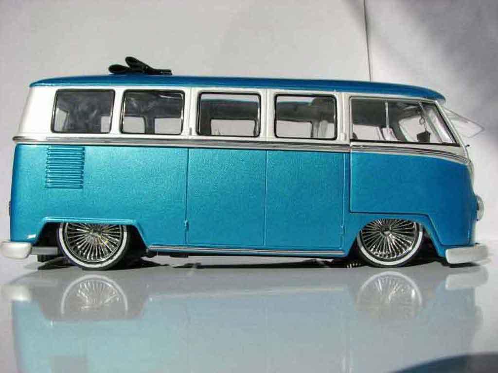 Volkswagen Combi Low Rider Welly Diecast Model Car 1 18