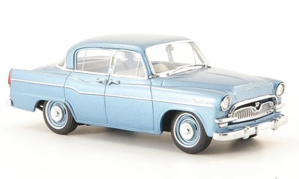 Toyopet Crown 1/43 Ebbro DX (21) bleu 1958 miniature