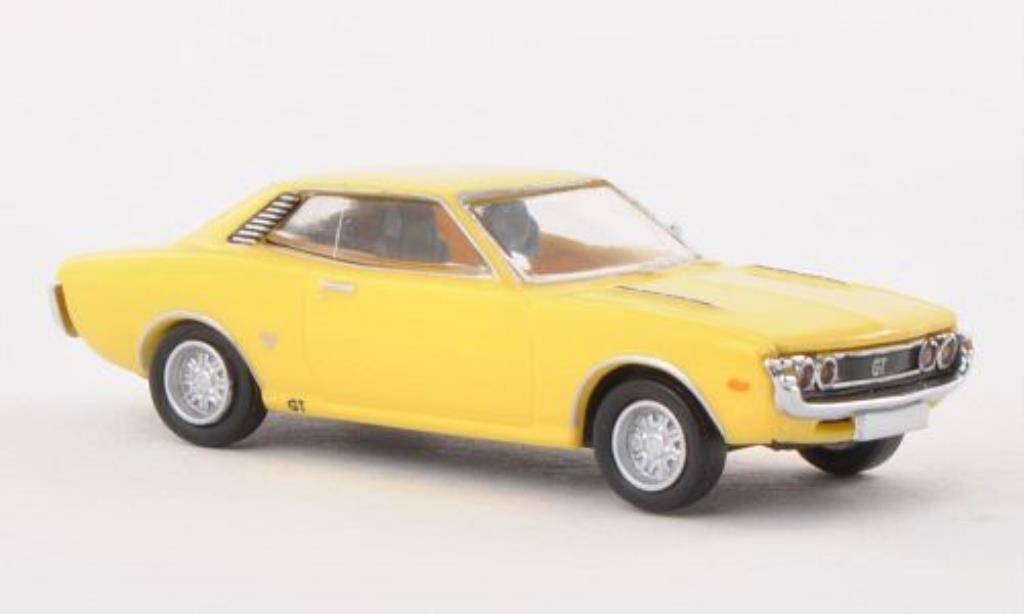 Miniature Toyota Celica GT jaune Brekina. Toyota Celica GT jaune miniature 1/87