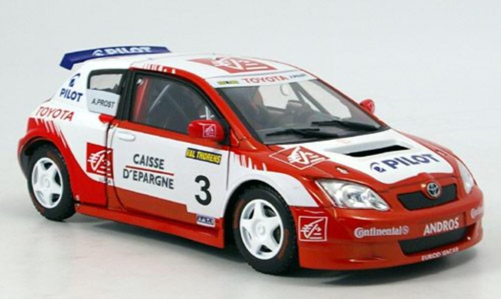 Toyota Corolla WRC 1/18 Solido No.3 A.Prost 2006 diecast model cars