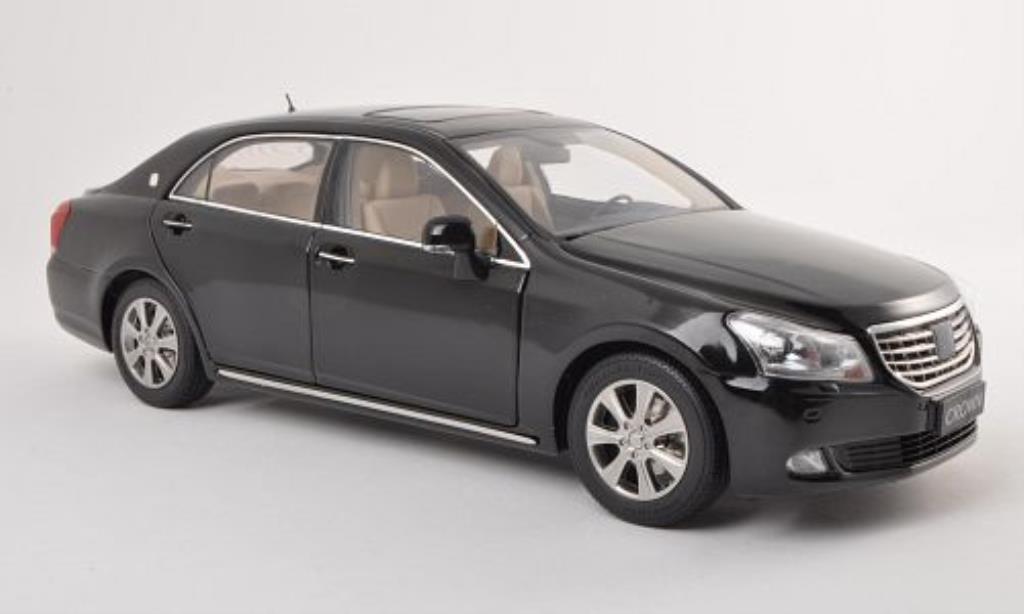 Toyota Crown 1/18 Paudi schwarz 2010 modellautos