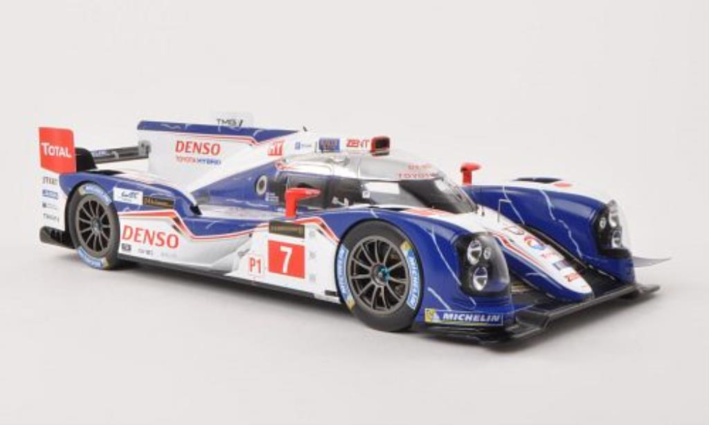 Toyota TS030 Hybrid No.7 24h Le Mans 2013 /A.Wurz Spark. Toyota TS030 Hybrid No.7 24h Le Mans 2013 /A.Wurz miniature  1%2F18