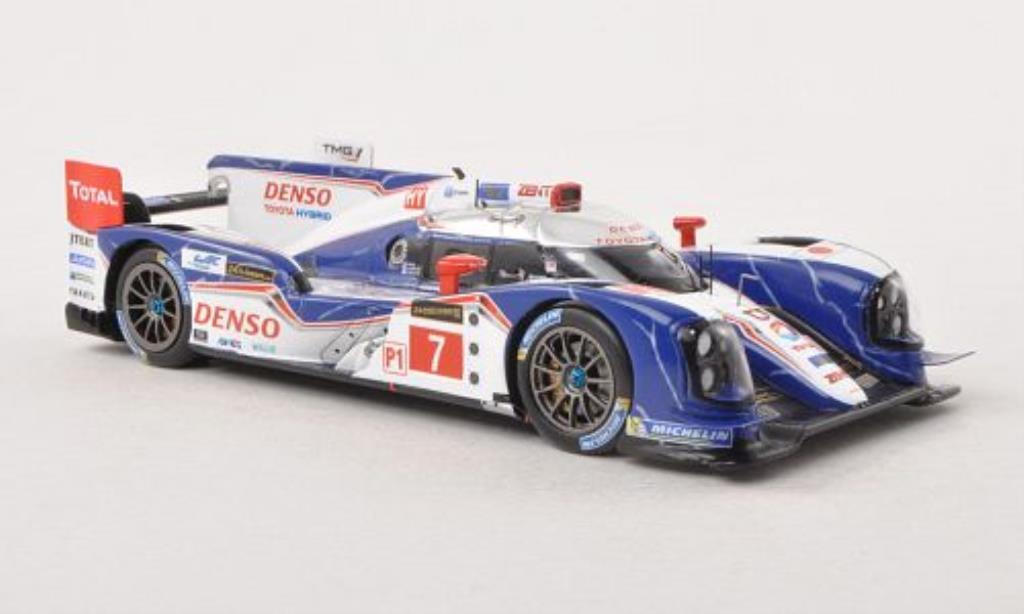 Toyota TS030 1/43 Spark Hybrid No.7 Denso 24h Le Mans 2013 /A.Wurz miniature