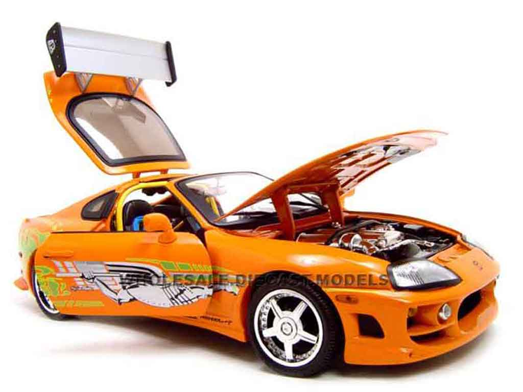 Toyota Supra fast and furious 1 Ertl coches miniaturas 1 ...