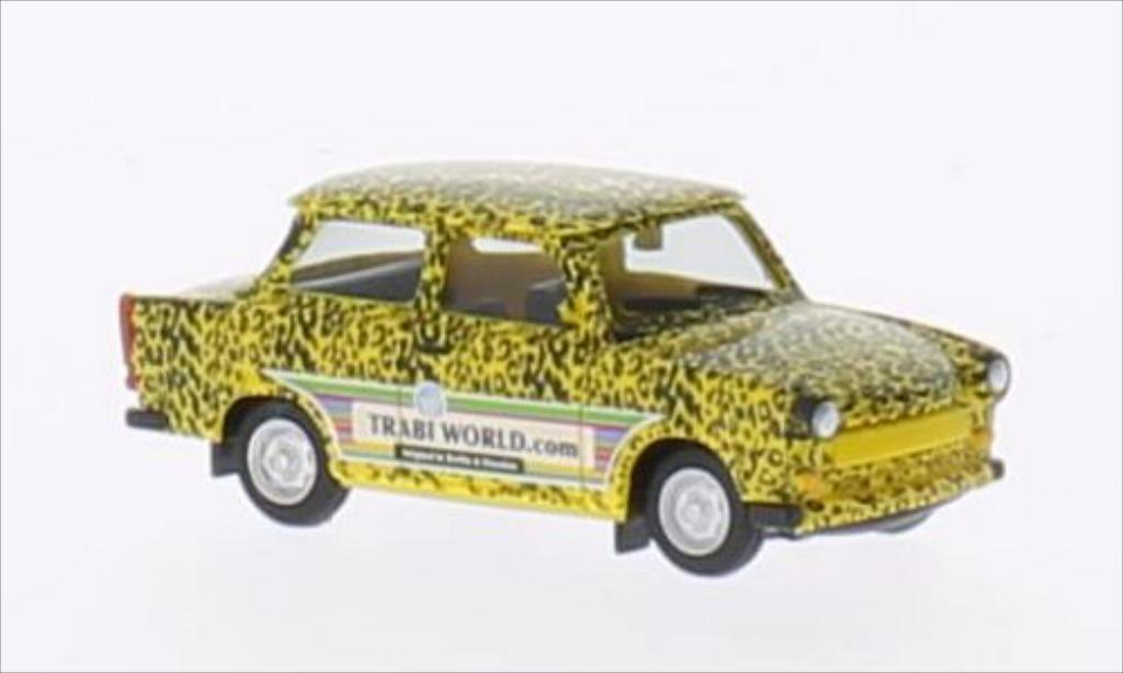 Trabant 601 1/87 Herpa Edition Trabi-world.com Modell 2 (Leopard) miniature