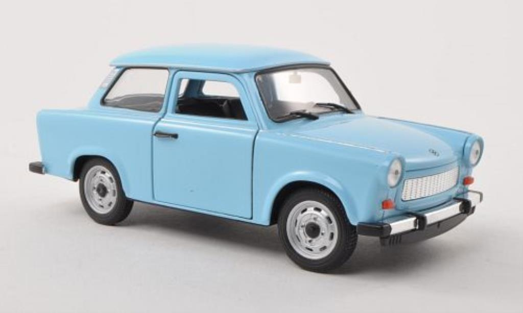 trabant 601 blau welly modellauto 1 24 kaufen verkauf modellauto online. Black Bedroom Furniture Sets. Home Design Ideas