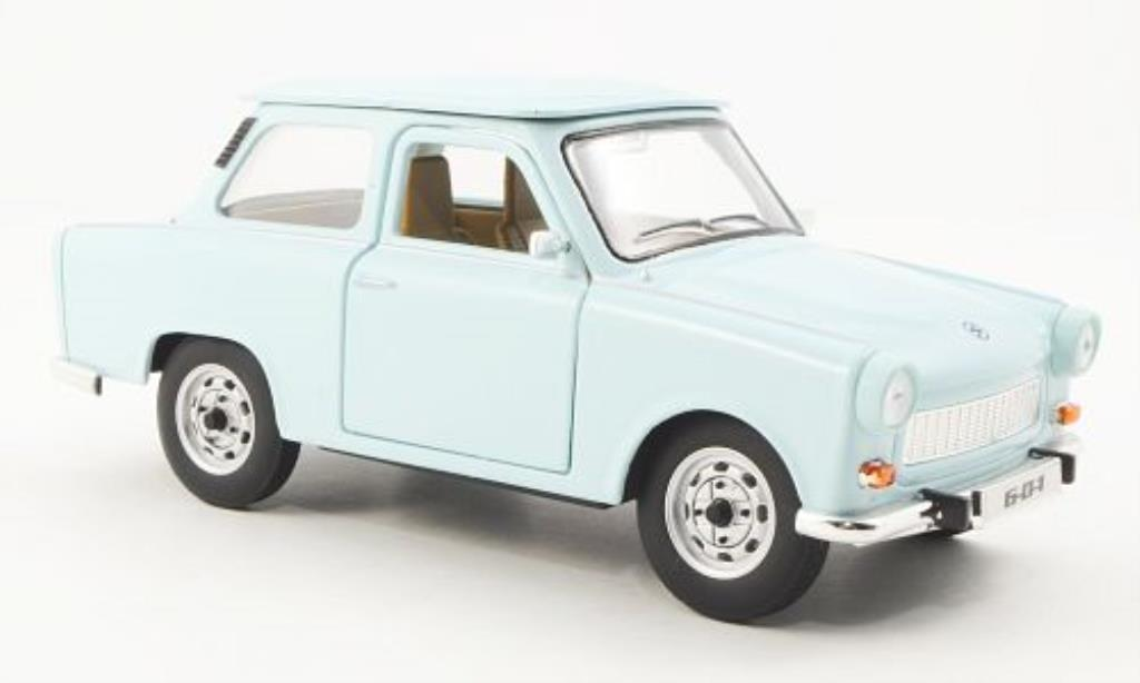 trabant 601 blau 1963 mcw modellauto 1 24 kaufen verkauf modellauto online. Black Bedroom Furniture Sets. Home Design Ideas
