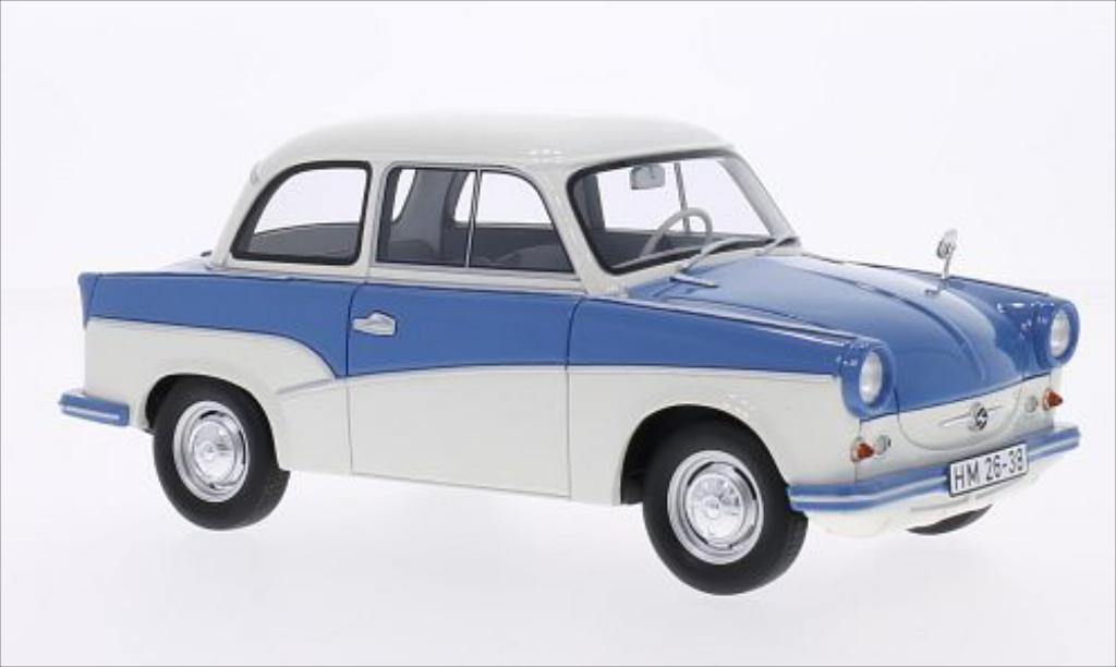 trabant p50 blue white 1958 mcw diecast model car 1 18 buy sell diecast car on. Black Bedroom Furniture Sets. Home Design Ideas