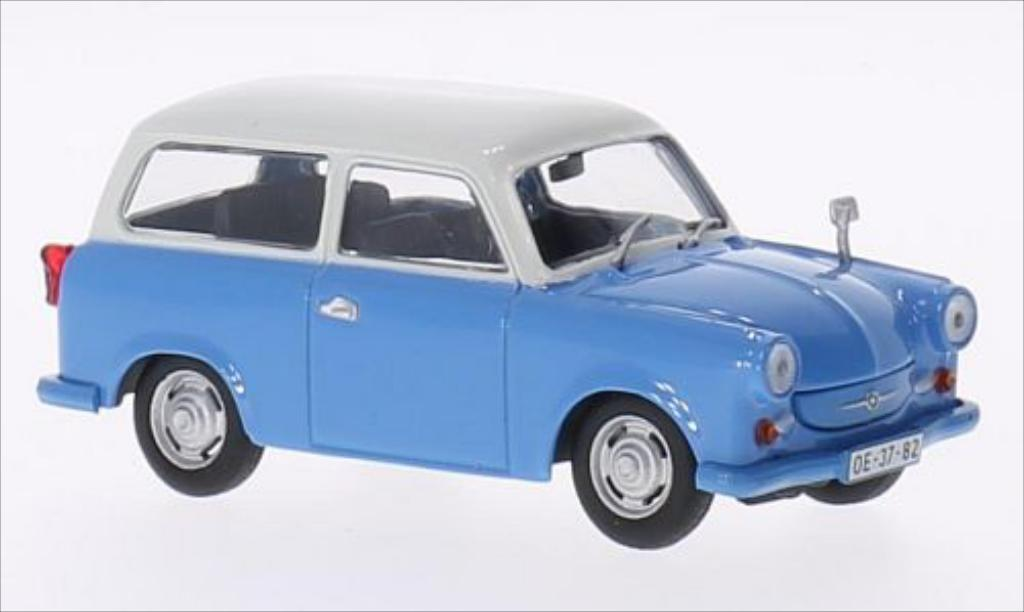 trabant p50 kombi blau weiss 1959 mcw modellauto 1 43 kaufen verkauf modellauto online. Black Bedroom Furniture Sets. Home Design Ideas