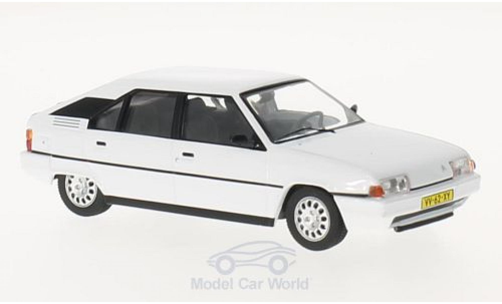 Citroen BX 1/43 Triple 9 Collection 16 T blanche 1983