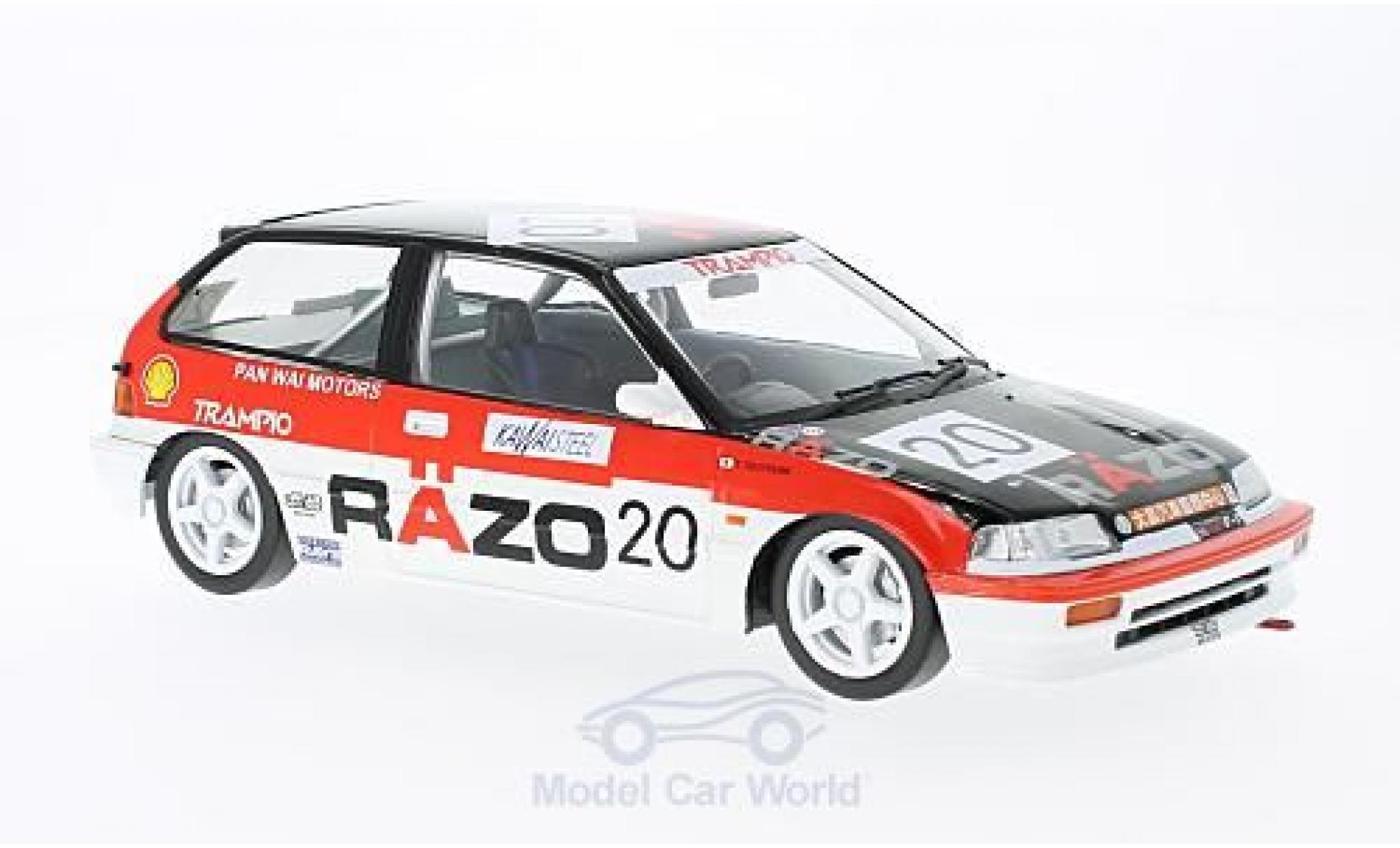 Honda Civic 1/18 Triple 9 Collection EF3 RHD No.20 Razo Trampio GP Macau 1989 ohne Vitrine