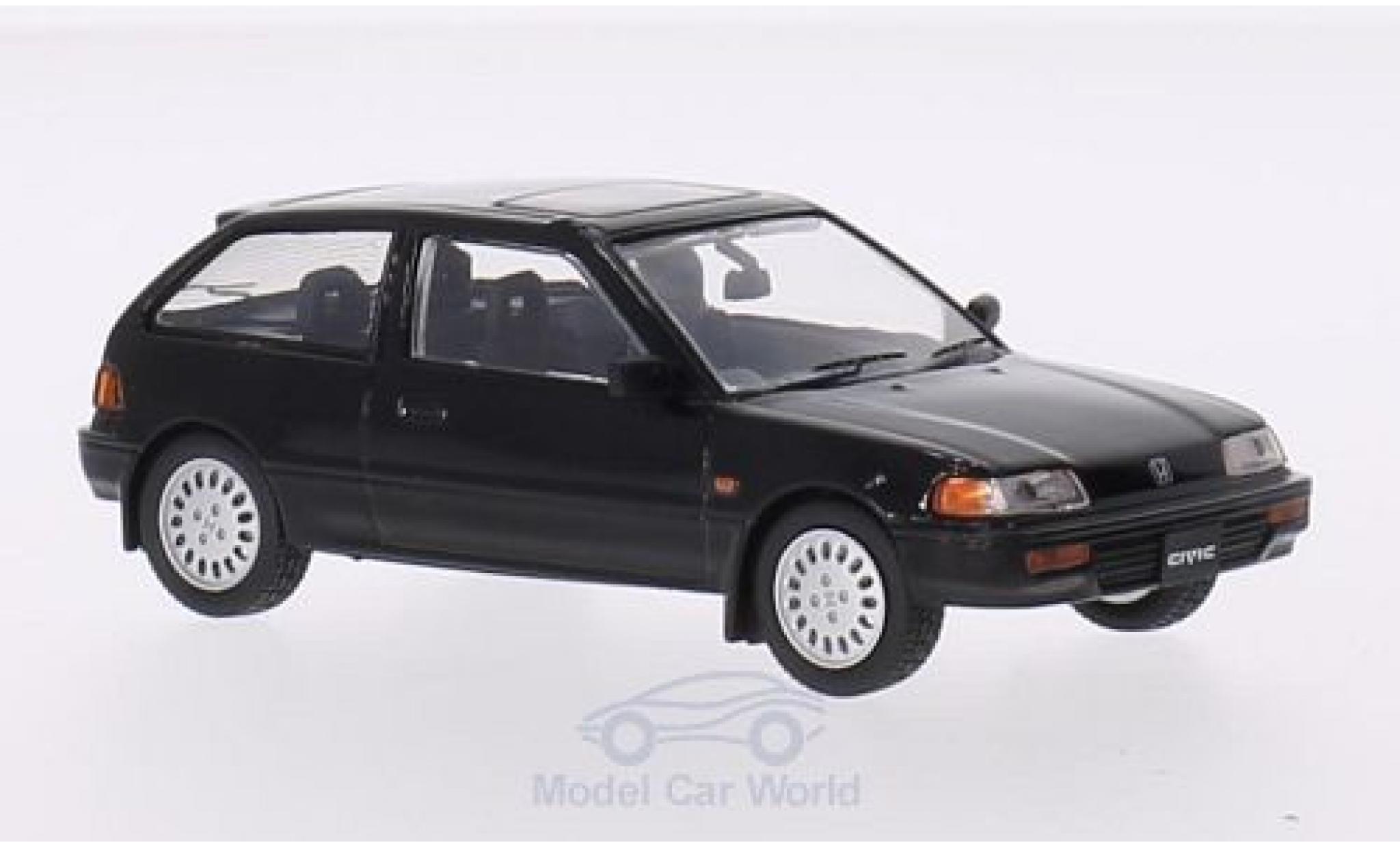 Honda Civic 1/43 Triple 9 Collection black RHD 1987