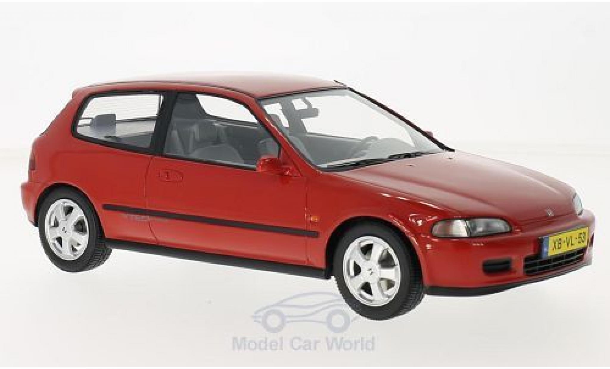 Honda Civic 1/18 Triple 9 Collection VTi Hatchback red 1992 ohne Vitrine
