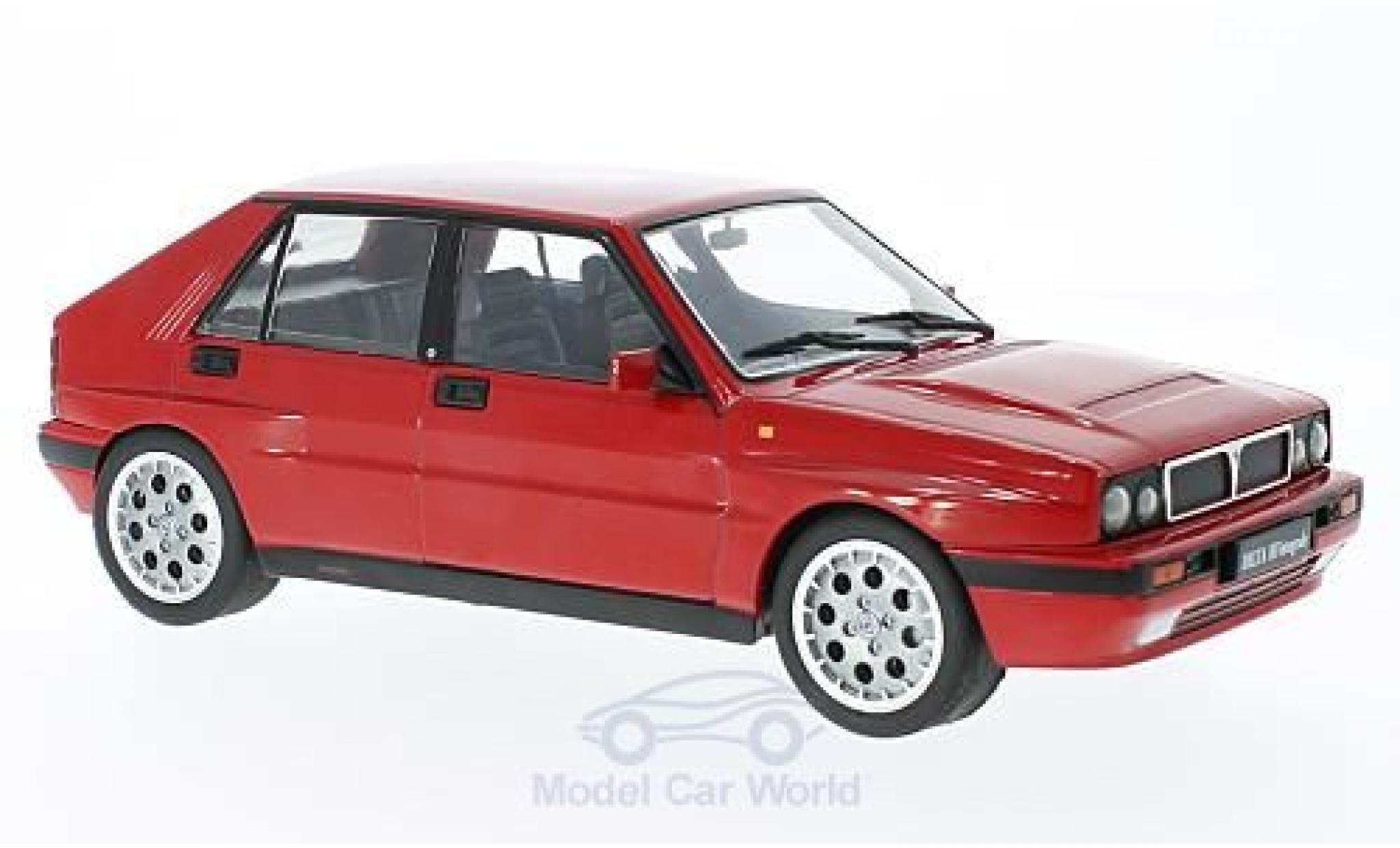 Lancia Delta 1/18 Triple 9 Collection HF Integrale 16V rouge 1990 ohne Vitrine